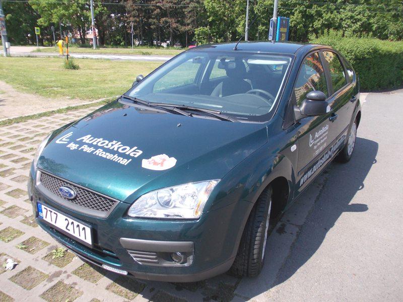 Autoškola Frýdland nad Ostravicí  - Ing. Petr Rozehnal - výcvikový automobil